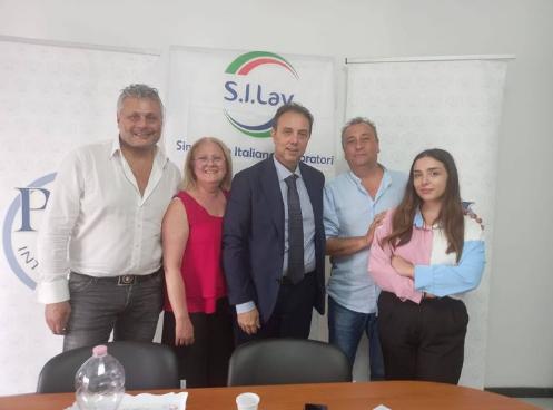 13/07/2021 NOLA SEDE DELLA PMI INTERNATIONAL - Incontro con la Segretaria Provinciale di Napoli, Raffaella Guerriero